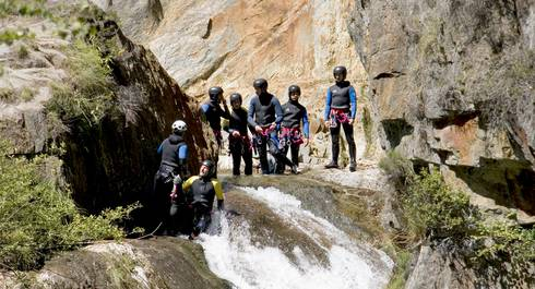 Canyoning Vicdessos Auzat