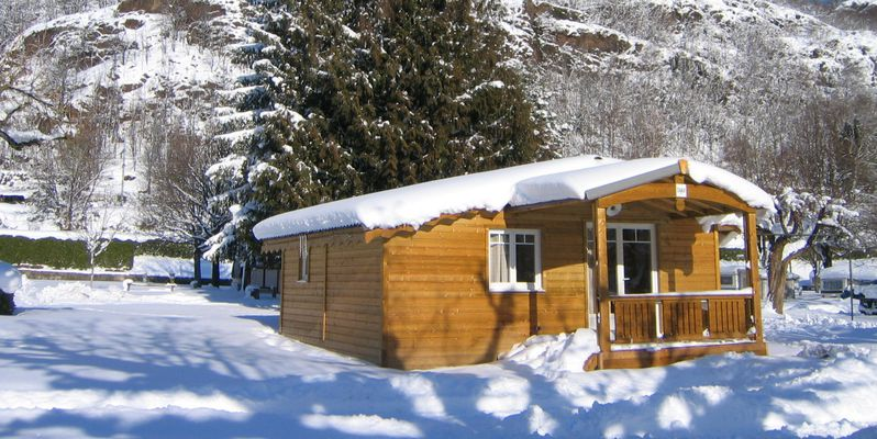 camping, malazeou, vallees d'ax, ariege, pyrennees, ski