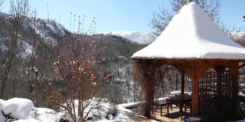 chambres d'hotes le belvedere, ascou, vallees d'ax, ariege, pyrenees