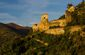 chateau de lordat, vallees d'ax, ariege, pyrenees, cathare